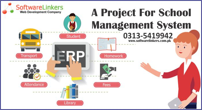A Project For School Management System