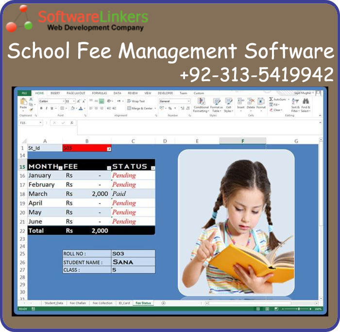 School Fee Management Software