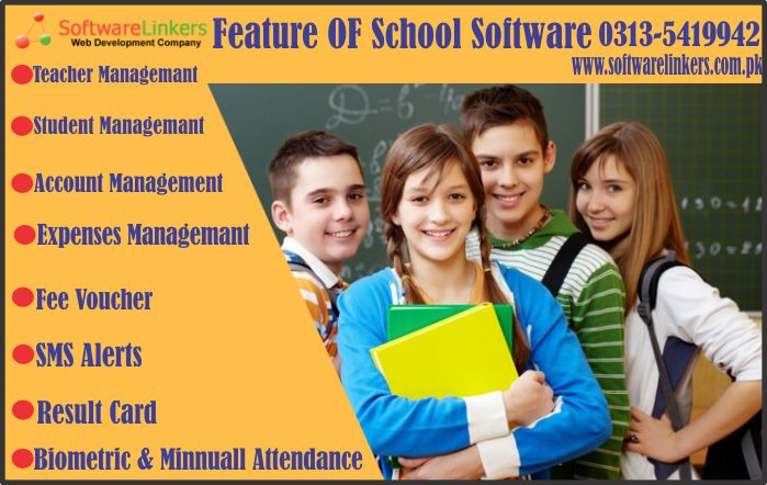 Feature OF School Software