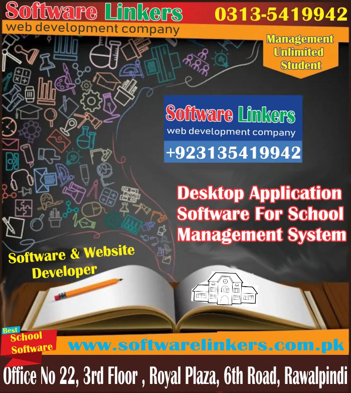 Desktop Application Software For School Management