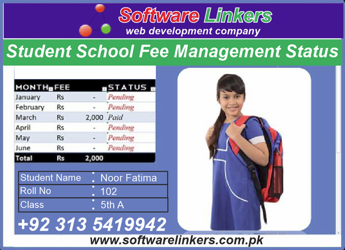 Student School Fee Management Software