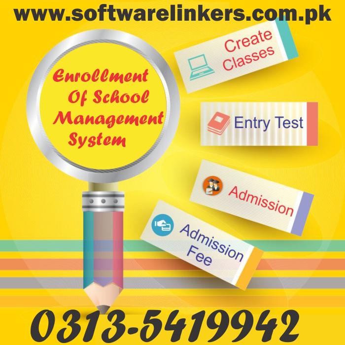 Enrollment Of School Management System