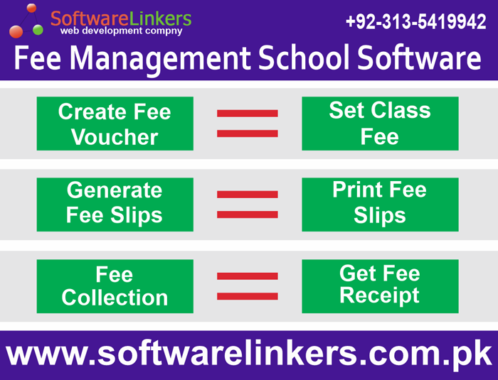 Fee Management School Software